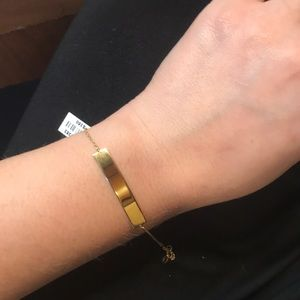 NWT. Genuine 14k Gold Bracelet 7-7.5""